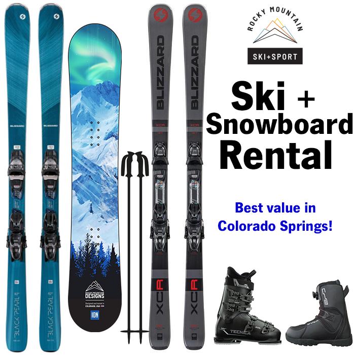 ski rental colorado springs