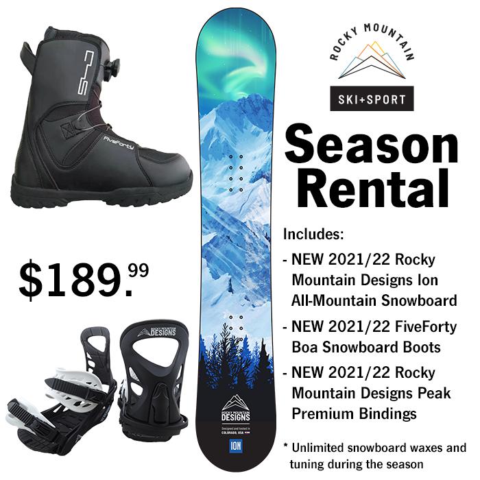 Season ski rental colorado springs